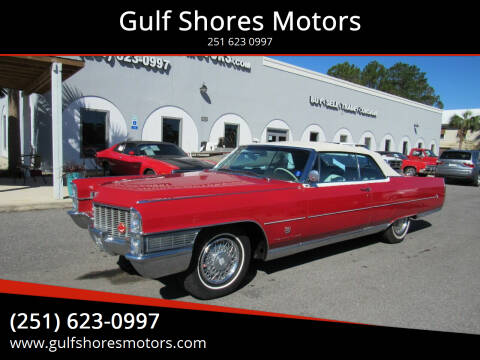 1965 Cadillac Eldorado for sale at Gulf Shores Motors in Gulf Shores AL