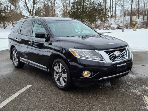 2013 Nissan Pathfinder for sale at Mighty Motors in Adrian MI