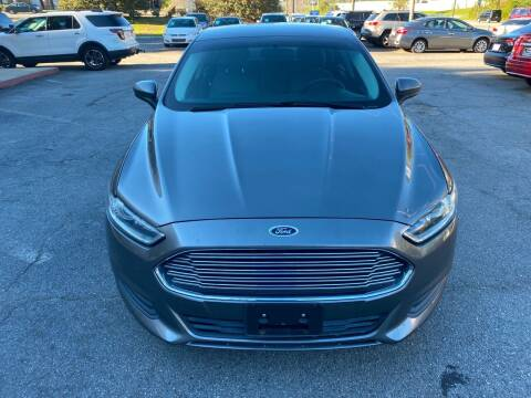 2014 Ford Fusion for sale at J Franklin Auto Sales in Macon GA
