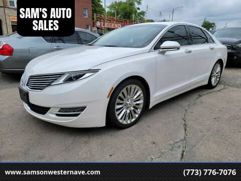 2014 Lincoln MKZ for sale at SAM'S AUTO SALES in Chicago IL