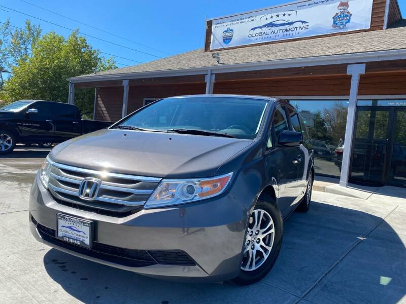 2012 Honda Odyssey for sale at Global Automotive Imports in Denver CO