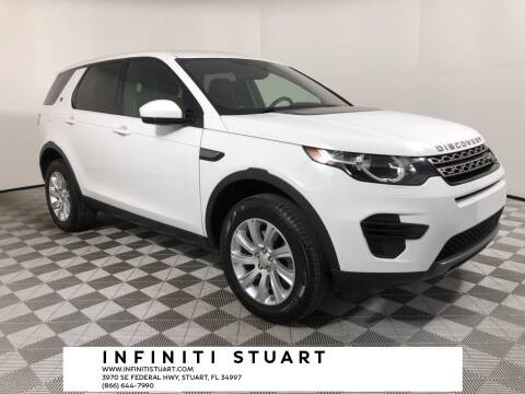2018 Land Rover Discovery Sport for sale at Infiniti Stuart in Stuart FL