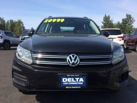 2017 Volkswagen Tiguan for sale at Delta Car Connection LLC in Anchorage AK