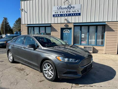 2016 Ford Fusion for sale at Danny's Auto Deals in Grafton WI