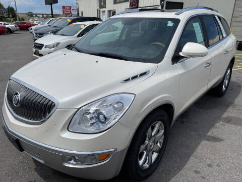 2008 Buick Enclave for sale at BELOW BOOK AUTO SALES in Idaho Falls ID