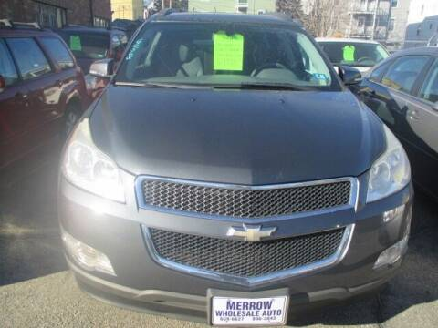 2011 Chevrolet Traverse for sale at MERROW WHOLESALE AUTO in Manchester NH