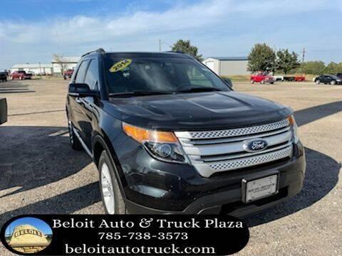 2014 Ford Explorer for sale at BELOIT AUTO & TRUCK PLAZA INC in Beloit KS