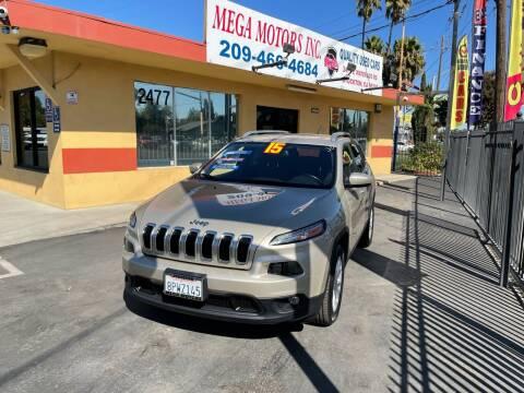 2015 Jeep Cherokee for sale at Mega Motors Inc. in Stockton CA