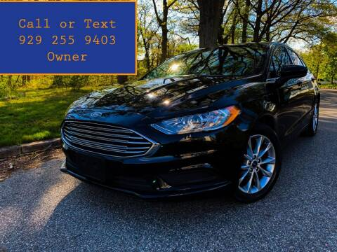 2017 Ford Fusion for sale at Ultimate Motors in Port Monmouth NJ