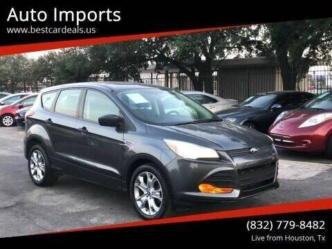 2016 Ford Escape for sale at Auto Imports in Houston TX