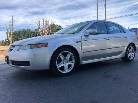 2006 Acura TL for sale at GTO United Auto Sales LLC in Lawrenceville GA