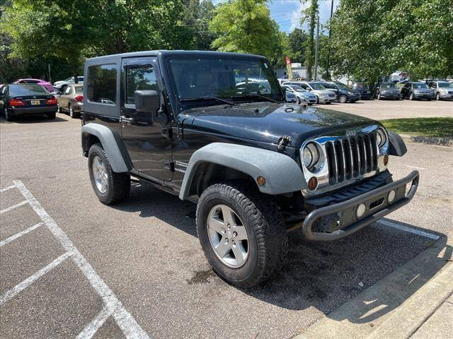 2010 Jeep Wrangler for sale at The Auto Depot in Raleigh NC