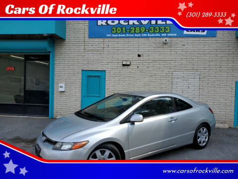 2007 Honda Civic for sale at Cars Of Rockville in Rockville MD