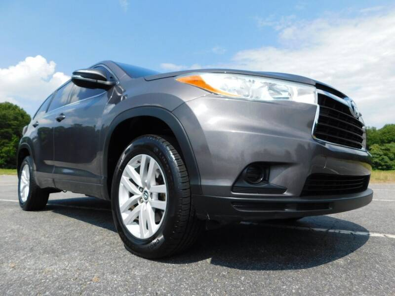 2016 Toyota Highlander for sale at Used Cars For Sale in Kernersville NC
