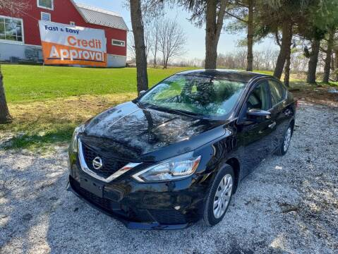 2019 Nissan Sentra for sale at Caulfields Family Auto Sales in Bath PA