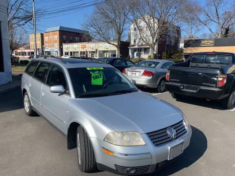 2002 Volkswagen Passat for sale at European Motors in West Hartford CT