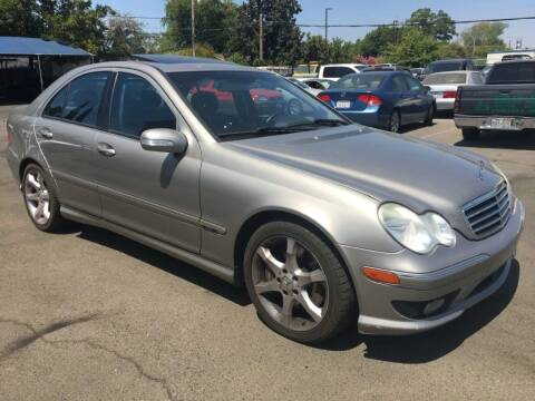 2007 Mercedes-Benz C-Class for sale at Dealer Finance Auto Center LLC in Sacramento CA
