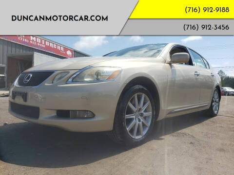 2007 Lexus GS 350 for sale at DuncanMotorcar.com in Buffalo NY