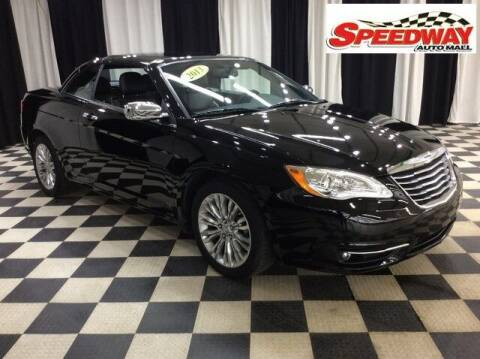 2013 Chrysler 200 Convertible for sale at SPEEDWAY AUTO MALL INC in Machesney Park IL