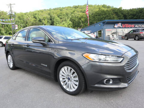 2016 Ford Fusion Hybrid for sale at Viles Automotive in Knoxville TN