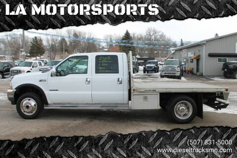 2002 Ford F-450 Super Duty for sale at LA MOTORSPORTS in Windom MN