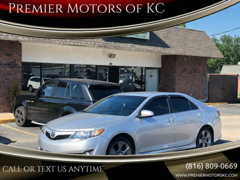 2013 Toyota Camry for sale at Premier Motors of KC in Kansas City MO