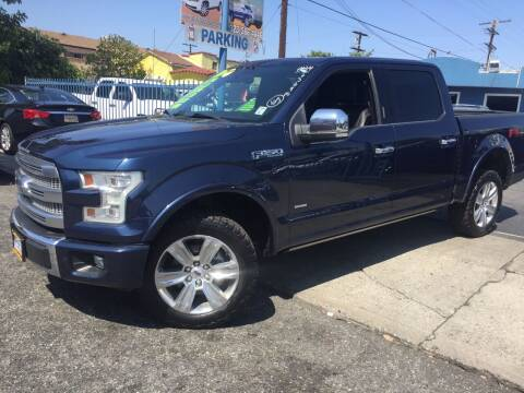 2015 Ford F-150 for sale at 2955 FIRESTONE BLVD in South Gate CA