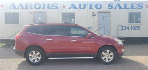 2012 Chevrolet Traverse for sale at Aaron's Auto Sales in Corpus Christi TX