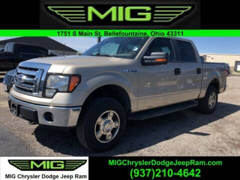 2010 Ford F-150 for sale at MIG Chrysler Dodge Jeep Ram in Bellefontaine OH