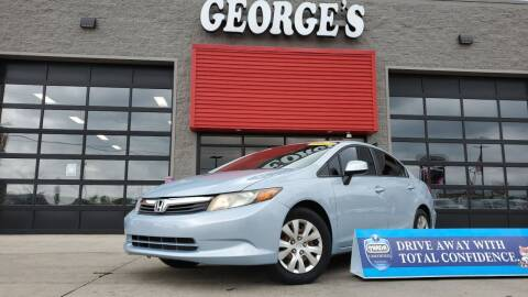 2012 Honda Civic for sale at George's Used Cars - Telegraph in Brownstown MI