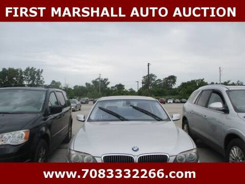 2006 BMW 7 Series for sale at First Marshall Auto Auction in Harvey IL