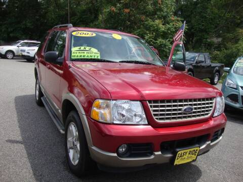 2003 Ford Explorer for sale at Easy Ride Auto Sales Inc in Chester VA
