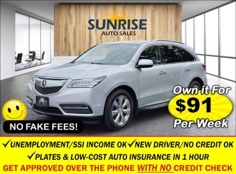 2015 Acura MDX for sale at AUTOFYND in Elmont NY
