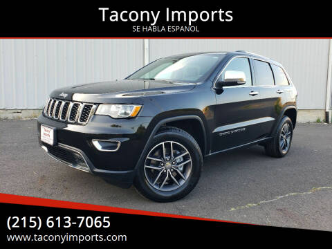 2017 Jeep Grand Cherokee for sale at Tacony Imports in Philadelphia PA