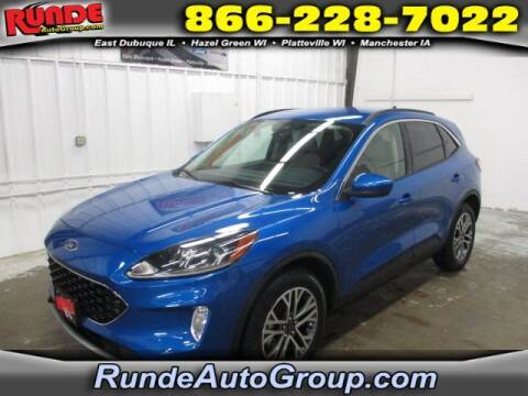 2020 Ford Escape for sale at Runde Chevrolet in East Dubuque IL