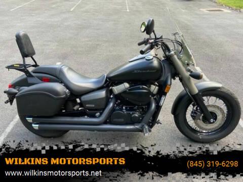 2013 Honda Shadow Phantom for sale at WILKINS MOTORSPORTS in Brewster NY