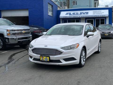 2017 Ford Fusion Hybrid for sale at AGM AUTO SALES in Malden MA