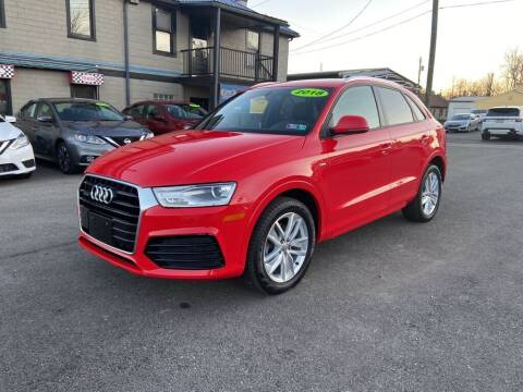 2018 Audi Q3 for sale at Sisson Pre-Owned in Uniontown PA