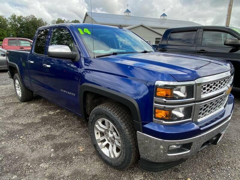 2014 Chevrolet Silverado 1500 for sale at ALL WHEELS DRIVEN in Wellsboro PA