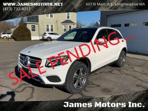 2018 Mercedes-Benz GLC for sale at James Motors Inc. in East Longmeadow MA