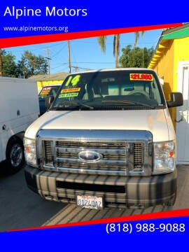 2014 Ford E-Series Cargo for sale at Alpine Motors in Van Nuys CA