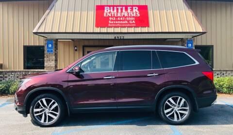 2017 Honda Pilot for sale at Butler Enterprises in Savannah GA