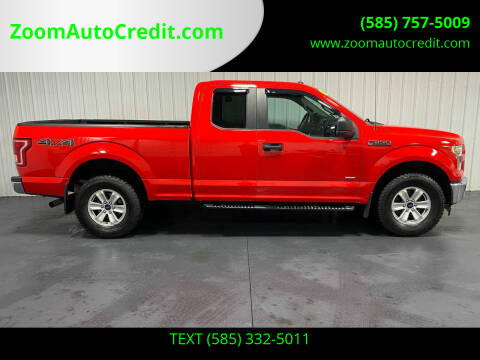 2017 Ford F-150 for sale at ZoomAutoCredit.com in Elba NY