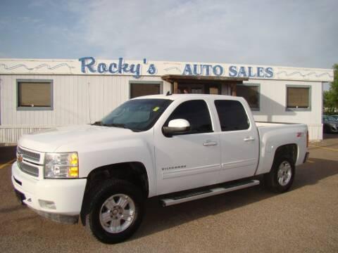 2013 Chevrolet Silverado 1500 for sale at Rocky's Auto Sales in Corpus Christi TX