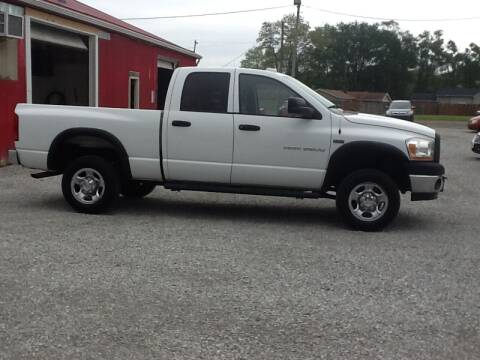 2006 Dodge Ram Pickup 2500 for sale at MIKE'S CYCLE & AUTO in Connersville IN