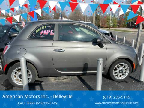2012 FIAT 500 for sale at American Motors Inc. - Belleville in Belleville IL