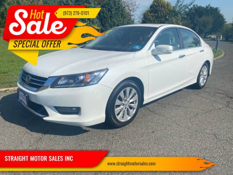 2015 Honda Accord for sale at STRAIGHT MOTOR SALES INC in Paterson NJ