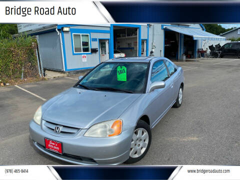 2001 Honda Civic for sale at Bridge Road Auto in Salisbury MA