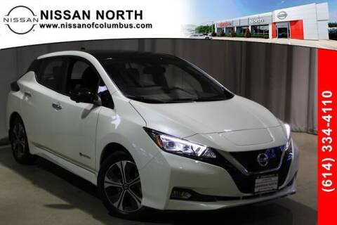 2019 Nissan LEAF for sale at Auto Center of Columbus in Columbus OH