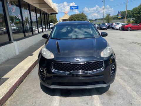 2017 Kia Sportage for sale at J Franklin Auto Sales in Macon GA